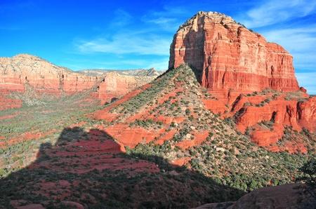 アリゾナ州セドナの赤い岩の景観