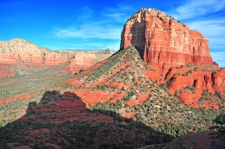 Red Rock Landscape of Sedona Arizona photo