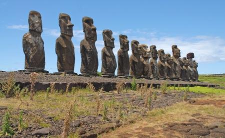 rapa nui: Moai, Rapa Nui, Isla de Pascua