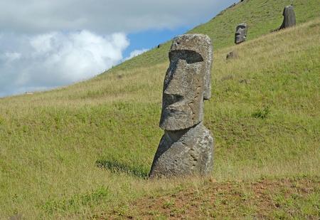 rapa: Moai, Rapa Nui, Easter Island