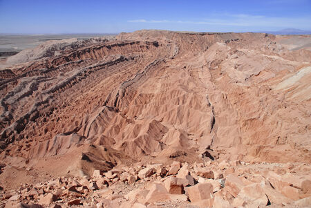 The Barren and Stark Beauty of the Atacama Desert, Chile  photo