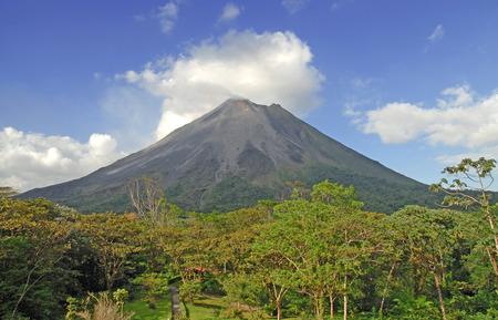 アレナル火山、コスタリカ