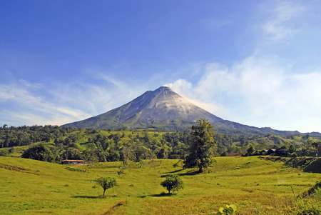 volcano: Arenal Volcano, Costa Rica