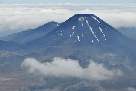 Mount Ngauruhoe in Tongariro National Park, New Zealand  photo