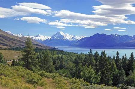 Mount Cook New Zealand  Фото со стока