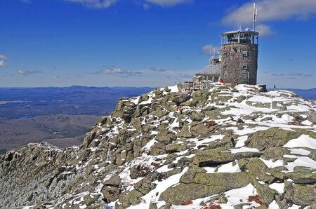Summit of Whiteface Mountain, Adirondacks, New York, USA  photo