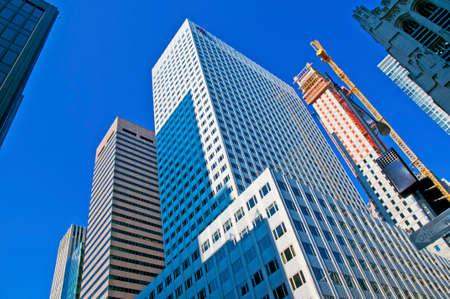 高層ビル、ニューヨーク ニューヨーク マンハッタン