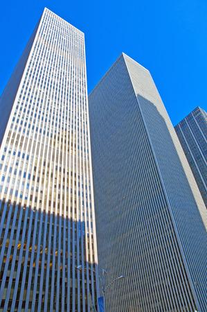 市ニューヨーク ニューヨーク マンハッタンの高層ビル 報道画像