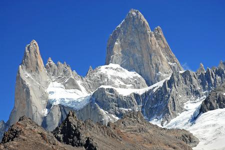 chalten: Fitz Roy Massif near Chalten, Patagonia Argentina