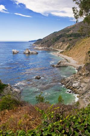 ビッグ ・ サーの海岸、カリフォルニア