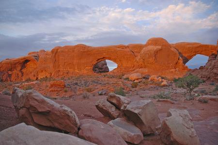 southwest usa: Red Rock landscape, Southwest USA Stock Photo