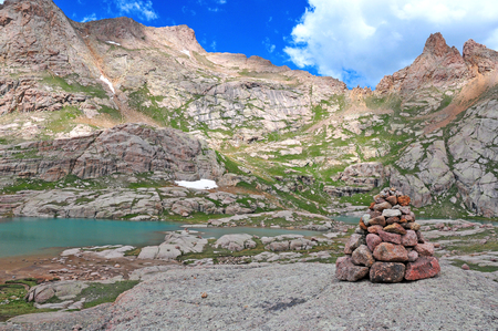 Chicago Basin and the Needle Mountains, Colorado Rockies  photo