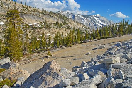 john muir wilderness: Parque Nacional de Yosemite, California Foto de archivo