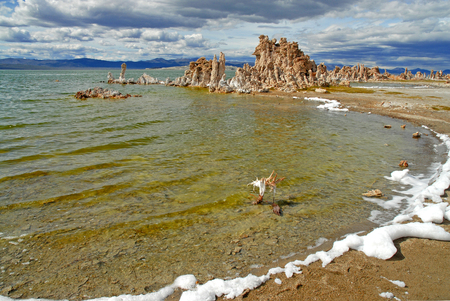 mammoth lakes: Mono Lake, California Stock Photo
