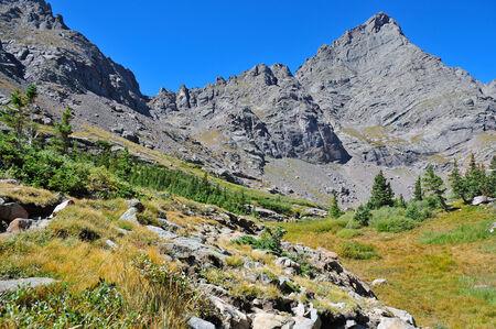 rocky mountains colorado: Crestone Needle, Sangre de Cristo Range, Rocky Mountains, Colorado, USA