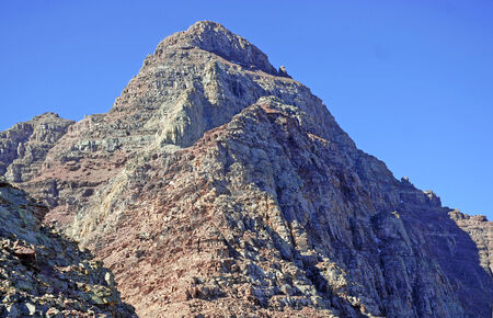 pyramid peak: Pyramid Peak, Elk Range, Rocky Mountains, Colorado USA Stock Photo