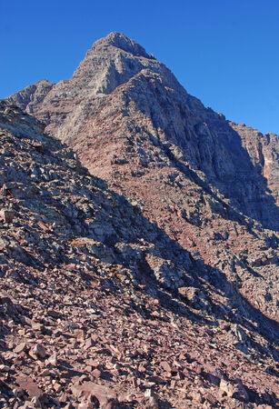 rocky mountains colorado: Pyramid Peak, Elk Range, Rocky Mountains, Colorado USA Stock Photo