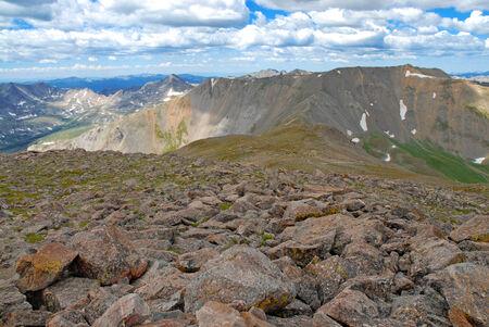 rocky mountains colorado: Mount Belford, Sawatch Range, Rocky Mountains, Colorado, USA