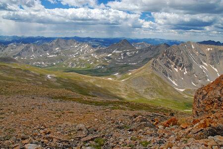 rocky mountains colorado: Sawatch Range, Rocky Mountains, Colorado, USA