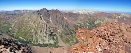 rocky mountains colorado: Elk Range, Rocky Mountains, Colorado, USA Stock Photo