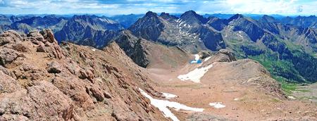 rocky mountains colorado: Sunlight Peak, San Juan Range, Rocky Mountains, Colorado, USA