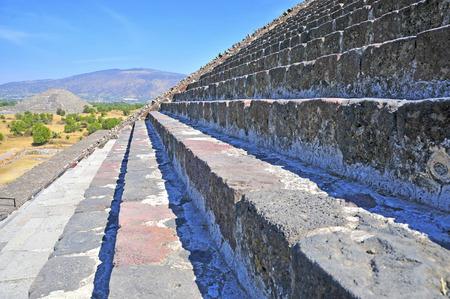 mesoamerica: Pyramids at Teotihuacan, Mexico