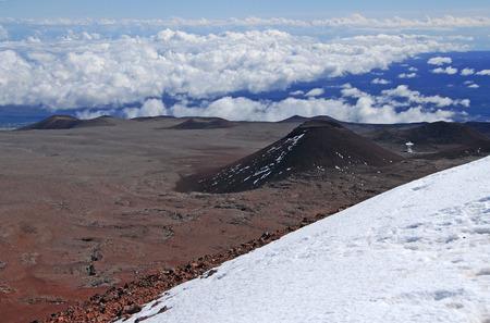 Mauna Kea, Big Island, Hawaii Фото со стока
