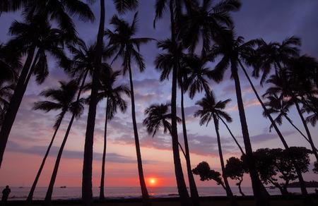 Sunset, Big Island of Hawaii, USA
