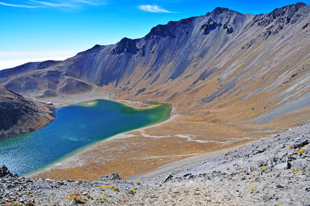 火山ネバド ・ デ ・ トルーカ、メキシコ