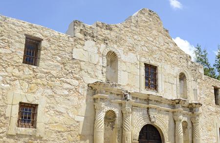 歴史的なアラモ、San Antonio, テキサス, アメリカ 写真素材