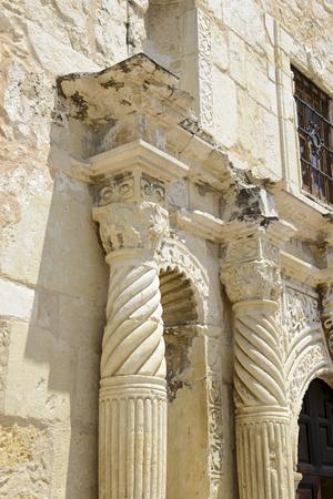 The Historic Alamo, San Antonio, Texas, USA  Фото со стока