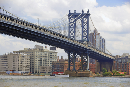 Manhattan Bridge, New York City photo