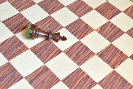 rosewood: Wood Chess pieces on Rosewood chess board