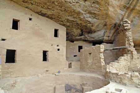 anasazi: Cliff Dwellings at Mesa Verde National Park, Colorado