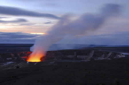 hawaii: Kilauea Crater, Volcanoes National Park, Hawaii