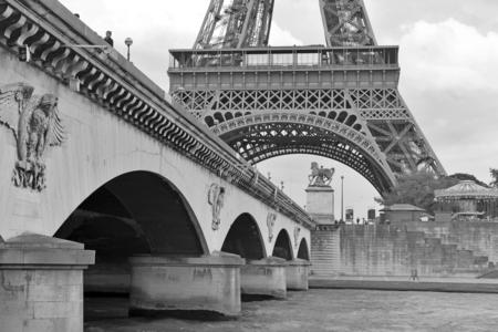 eiffel tower architecture: Eiffel Tower, Paris France