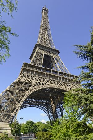 paris france: Eiffel Tower, Paris France