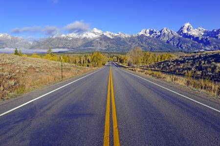 Grand Teton and the Teton Range, Grand Teton National Park, Wyoming, USA