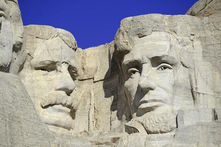 Mount Rushmore National Memorial, symbol of America located in the Black Hills, South Dakota, USA Editorial