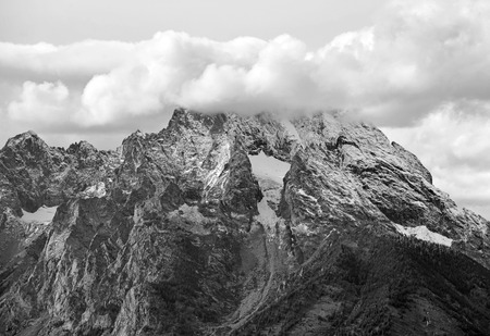 rocky mountains: Storm and Snow in the Rocky Mountains