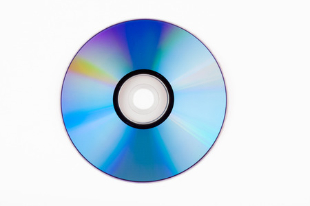 objects with clipping paths: dvd2 Stock Photo