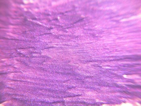 smeared: Abstract violet shiny background, smeared nail polish Stock Photo