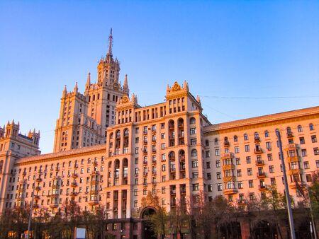 kotelnicheskaya embankment: Kotelnicheskaya Embankment Building, one of seven Stalinist skyscrapers in Moscow, The Seven Sisters
