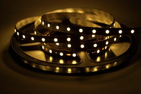 diodes: LED Strip Lighting Stock Photo