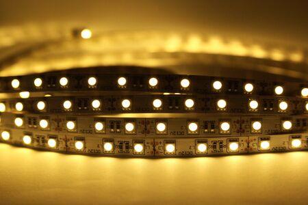 led lighting: LED Strip Lighting Stock Photo