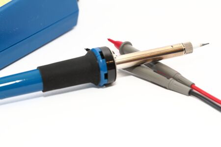 soldering: Soldering iron