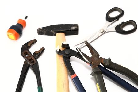 carpenter's bench: Tools