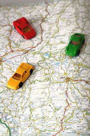 carritos de juguete: Carros de juguete Foto de archivo
