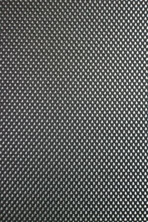 tight focus: Close up of a cloth seat sports car similar to carbon fiber Stock Photo