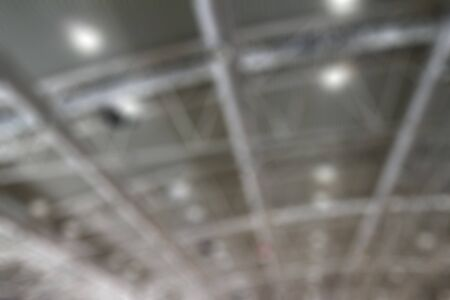 building industry: Blurred roof of a building industry